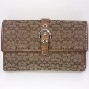 Authentic Coach Ladies Wallet